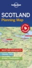 Lonely Planet Scotland Planning Map - Book