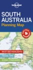 Lonely Planet South Australia Planning Map - Book