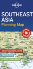 Lonely Planet Southeast Asia Planning Map - Book