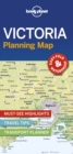 Lonely Planet Victoria Planning Map - Book