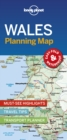 Lonely Planet Wales Planning Map - Book