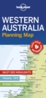Lonely Planet Western Australia Planning Map - Book