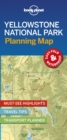 Lonely Planet Yellowstone National Park Planning Map - Book