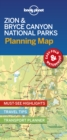 Lonely Planet Zion & Bryce Canyon National Parks Planning Map - Book