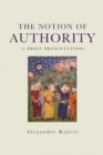 The Notion of Authority - Book