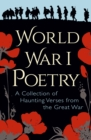 World War I Poetry - eBook