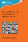 Research Methods for Complexity Theory in Applied Linguistics - Book
