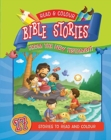 Read & Colour Bible Stories from the New Testament - Book