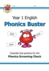 New KS1 English Phonics Buster - for the Phonics Screening Check in Year 1 - Book