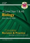 A-Level Biology: AQA Year 1 & AS Complete Revision & Practice with Online Edition - Book