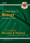 New A-Level Biology: AQA Year 2 Complete Revision & Practice with Online Edition - Book