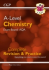 New A-Level Chemistry: AQA Year 1 & 2 Complete Revision & Practice with Online Edition - Book