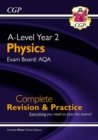 A-Level Physics: AQA Year 2 Complete Revision & Practice with Online Edition - Book