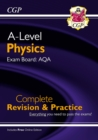 A-Level Physics: AQA Year 1 & 2 Complete Revision & Practice with Online Edition - Book
