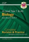 A-Level Biology: OCR A Year 1 & AS Complete Revision & Practice with Online Edition - Book