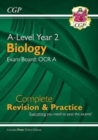 New A-Level Biology: OCR A Year 2 Complete Revision & Practice with Online Edition - Book