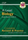 A-Level Biology: OCR A Year 1 & 2 Complete Revision & Practice with Online Edition - Book