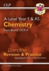 New A-Level Chemistry: OCR A Year 1 & AS Complete Revision & Practice with Online Edition - Book