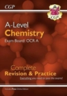 A-Level Chemistry: OCR A Year 1 & 2 Complete Revision & Practice with Online Edition - Book