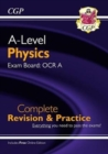 A-Level Physics: OCR A Year 1 & 2 Complete Revision & Practice with Online Edition - Book