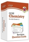 New 9-1 GCSE Chemistry AQA Revision Question Cards - Book
