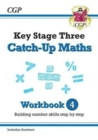 New KS3 Maths Catch-Up Workbook 4 (with Answers) - Book