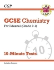 New Grade 9-1 GCSE Chemistry: Edexcel 10-Minute Tests (with answers) - Book