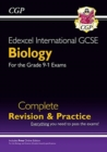 New Grade 9-1 Edexcel International GCSE Biology: Complete Revision & Practice with Online Edition - Book