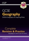 New Grade 9-1 GCSE Geography OCR B Complete Revision & Practice (with Online Edition) - Book