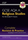 Grade 9-1 GCSE Religious Studies: AQA A Complete Revision & Practice with Online Edition - Book