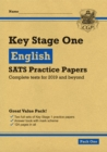 New KS1 English SATS Practice Papers: Pack 1 (for the tests in 2019) - Book