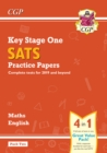 KS1 Maths and English SATS Practice Papers Pack (for the 2021 tests) - Pack 2 - Book
