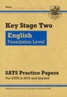 KS2 English Targeted SATS Practice Papers: Foundation Level (for the 2021 tests) - Book