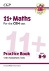 New 11+ CEM Maths Practice Book & Assessment Tests - Ages 8-9 (with Online Edition) - Book