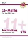 New 11+ CEM Maths Practice Book & Assessment Tests - Ages 9-10 (with Online Edition) - Book
