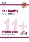 New 11+ CEM Maths Practice Book & Assessment Tests - Ages 10-11 (with Online Edition) - Book