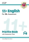 11+ GL English Practice Book & Assessment Tests - Ages 7-8 (with Online Edition) - Book