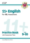 11+ GL English Practice Book & Assessment Tests - Ages 9-10 (with Online Edition) - Book
