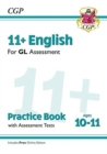 New 11+ GL English Practice Book & Assessment Tests - Ages 10-11 (with Online Edition) - Book