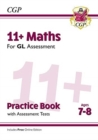 New 11+ GL Maths Practice Book & Assessment Tests - Ages 7-8 (with Online Edition) - Book