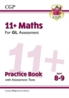 New 11+ GL Maths Practice Book & Assessment Tests - Ages 8-9 (with Online Edition) - Book