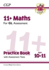 New 11+ GL Maths Practice Book & Assessment Tests - Ages 10-11 (with Online Edition) - Book