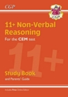 New 11+ CEM Non-Verbal Reasoning Study Book (with Parents' Guide & Online Edition) - Book