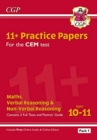 New 11+ CEM Practice Papers: Ages 10-11 - Pack 1 (with Parents' Guide & Online Edition) - Book