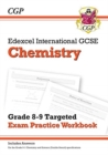 New Edexcel International GCSE Chemistry: Grade 8-9 Targeted Exam Practice Workbook (with answers) - Book