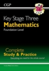 New KS3 Maths Complete Study & Practice - Foundation (with Online Edition) - Book