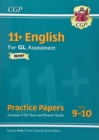 11+ GL English Practice Papers - Ages 9-10 (with Parents' Guide & Online Edition) - Book