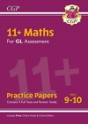 New 11+ GL Maths Practice Papers - Ages 9-10 (with Parents' Guide & Online Edition) - Book