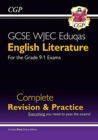 New Grade 9-1 GCSE English Literature WJEC Eduqas Complete Revision & Practice (with Online Edition) - Book