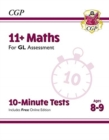 New 11+ GL 10-Minute Tests: Maths - Ages 8-9 (with Online Edition) - Book